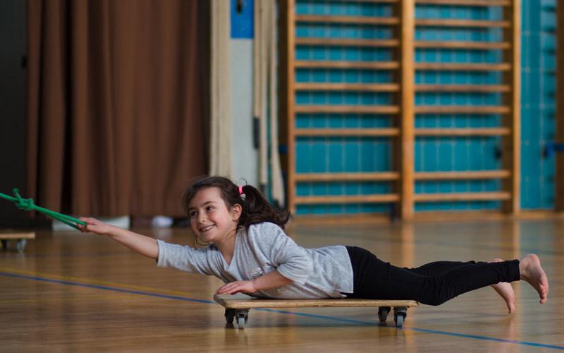 sportunterricht in der Regenweiher Schulen
