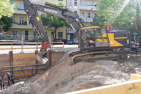 Baubeginn der Kita Blücherstraße