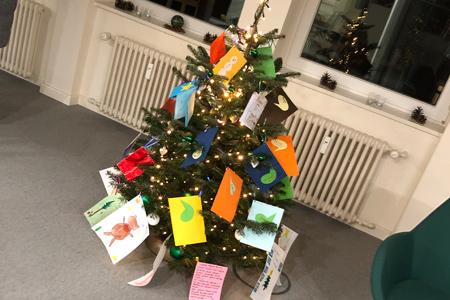Verimi-Geschenkeaktion Weihnachtsbaum